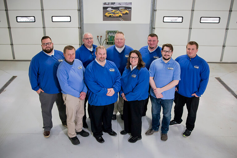 All American Coach / RV Wholesale Superstore team photo of RV specialists ready to answer your questions.