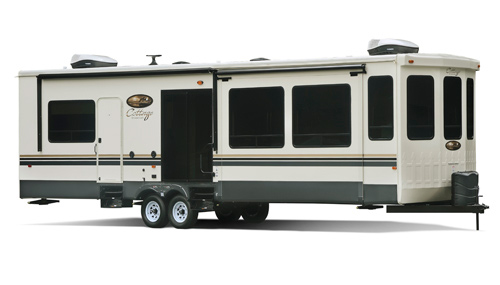 Cedar Creek RVs are included in the destination or luxury RV Type.