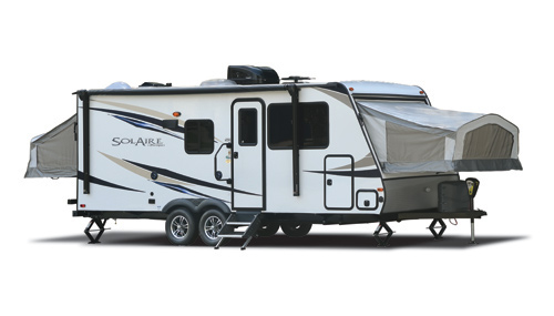 A SolAire is an expandable camper that is casually classified as an expandable RV Type.