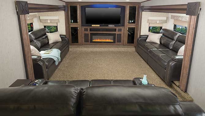 Rv Floor Plans Front Living Layout